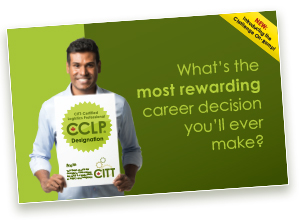 I want to know more about CITT courses and the CCLP designation