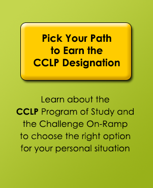 Click here to pick your path to the CCLP designation