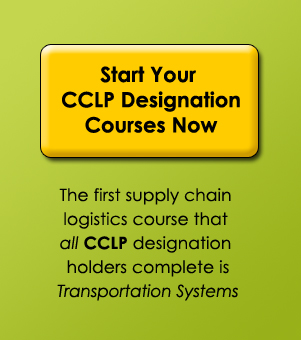 Click here to start your CCLP designation courses now - sign up for Transportation Systems