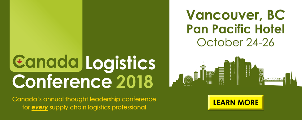 Click here to learn more about Canada Logistics Conference 2018