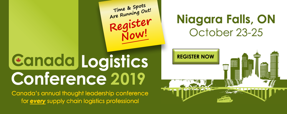 Canada Logistics Conference 2019 - Register Now!