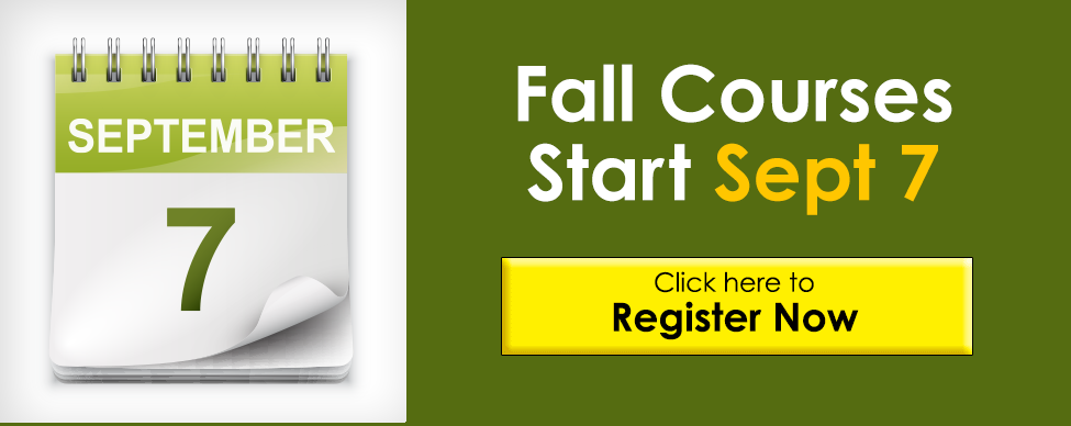 Click here to register for a fall course now
