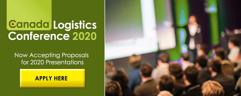 Apply to present at Canada Logistics Conference 2020 - click here to learn more and download the application package