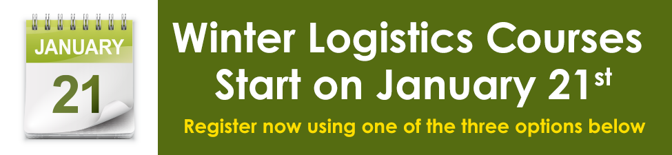 Register for a CITT Business or Logistics Course